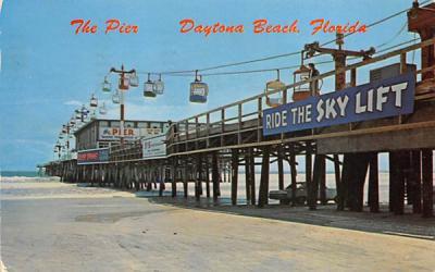 The Pier Daytona Beach, Florida Postcard