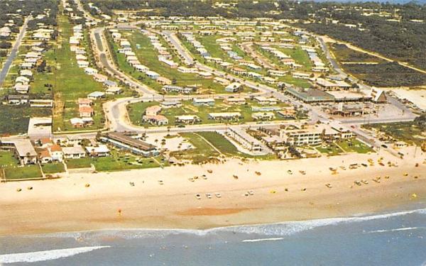 An aerial view of Ellinor Village Florida Postcard