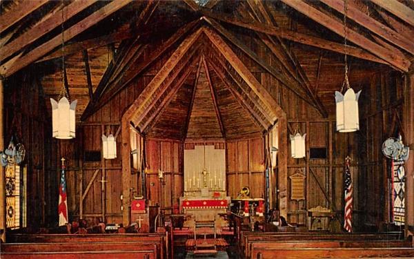 All Saints Episcopal Church Enterprise, Florida Postcard
