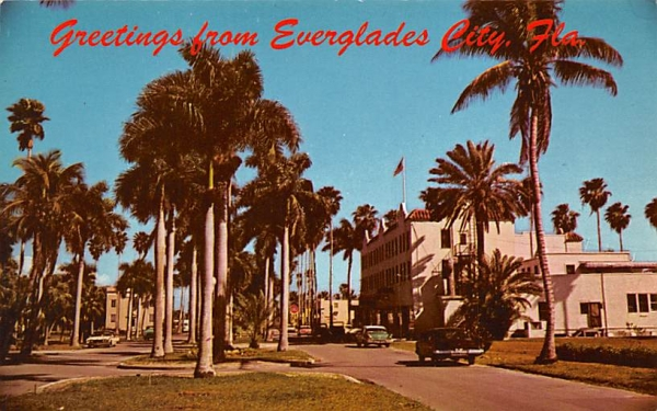 Greetings from Everglades City, FL Florida Postcard