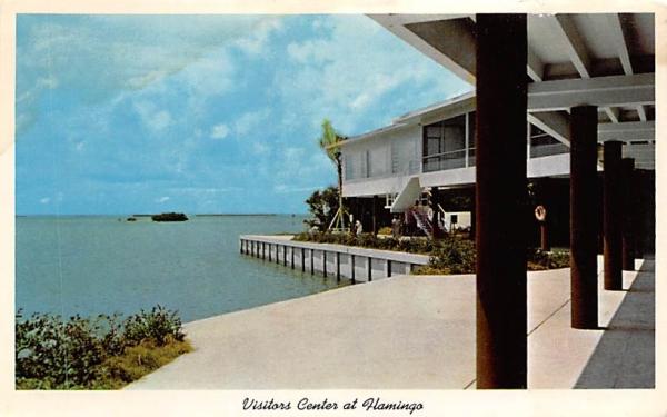 Visitors Center at Flamingo Everglades National Park, Florida Postcard