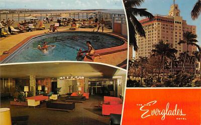 The New Everglades Hotel Florida Postcard