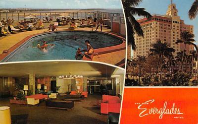 The New Everglades Hotel Florida Postcard