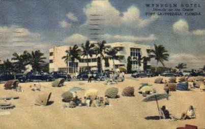 Wynholm Hotel - Fort Lauderdale, Florida FL Postcard