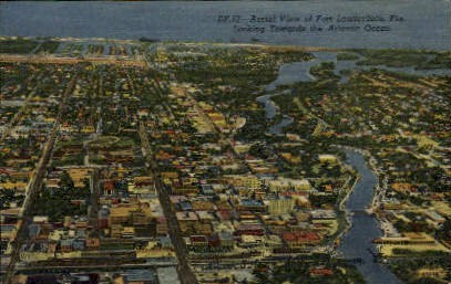 Fort Lauderdale, Florida, FL Postcard