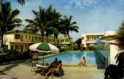 The Escape: A Gill Hotel - Fort Lauderdale, Florida FL Postcard