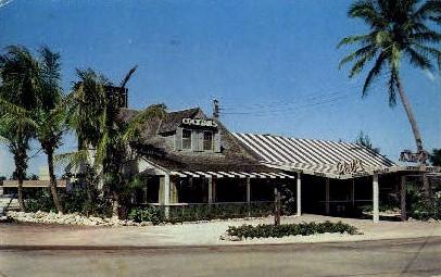 Hank Hagmann's Pals Restaurant - Fort Lauderdale, Florida FL Postcard