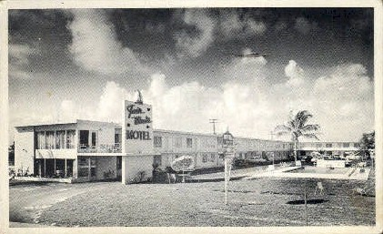 Fair Winds Motel - Fort Lauderdale, Florida FL Postcard