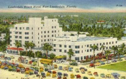 Lauderdale Beach - Fort Lauderdale, Florida FL Postcard
