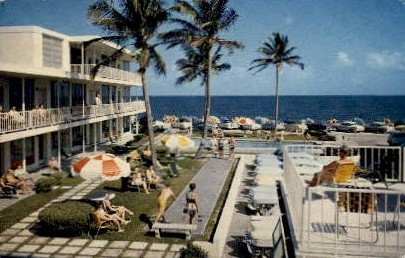 Merriweather Apartments - Fort Lauderdale, Florida FL Postcard