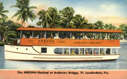 The Abeona - Fort Lauderdale, Florida FL Postcard