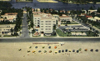 Trade Winds Hotel - Fort Lauderdale, Florida FL Postcard