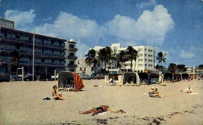 Fort Lauderdale Beach - Florida FL Postcard