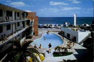 Silver Seas - Fort Lauderdale, Florida FL Postcard