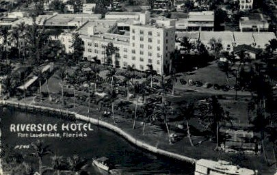Riverside Hotel - Fort Lauderdale, Florida FL Postcard