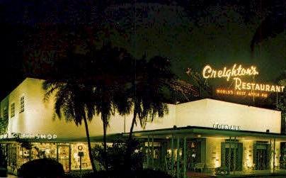 Creighton's - Fort Lauderdale, Florida FL Postcard