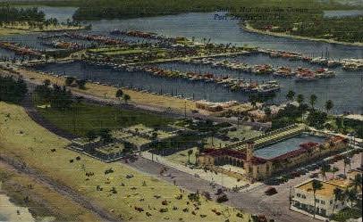 Bahia Mar Yacht Basin - Fort Lauderdale, Florida FL Postcard