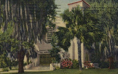 First Presbyterian Church - Fort Lauderdale, Florida FL Postcard