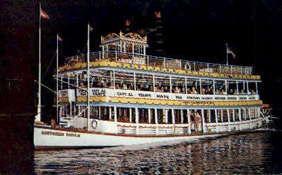 Southern Belle Showboat - Fort Lauderdale, Florida FL Postcard