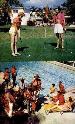 Gill Hotel - Fort Lauderdale, Florida FL Postcard