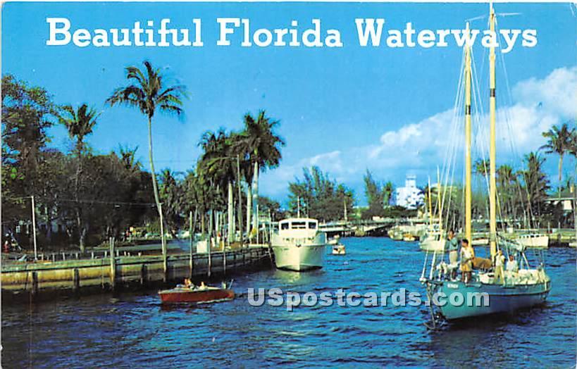Florida Keys, Florida FL Postcard