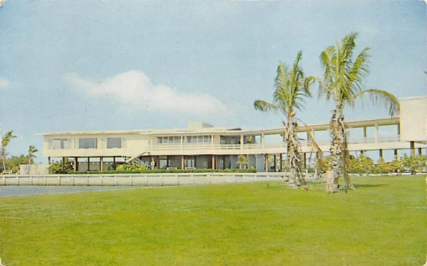 Visitors Center at Everglades Nationa Park Flamingos, Florida Postcard