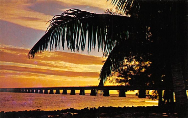 Seven Mile Bridge Florida Keys Postcards, Florida