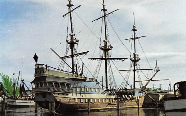 This is the only American replica of the Spanish Galleons  Florida Keys Postcards, Florida
