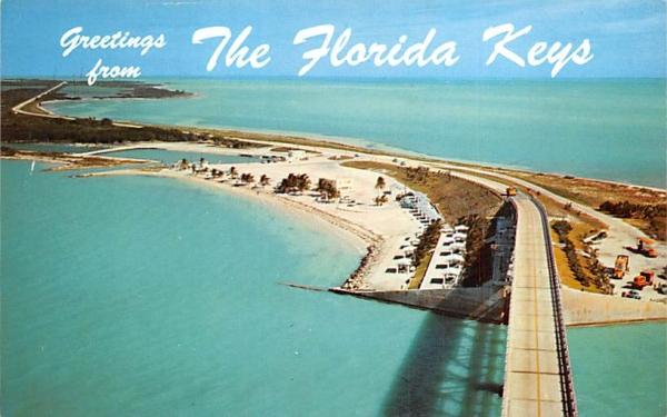 Greetings from The Florida Keys, FL, USA Postcard