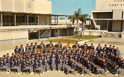 1967 Ft. Lauderdale High School Band Fort Lauderdale, Florida Postcard