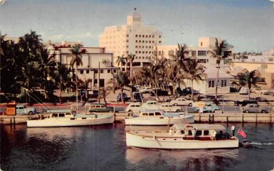 In the Heart of Fort Lauderdale, FL, USA Florida Postcard