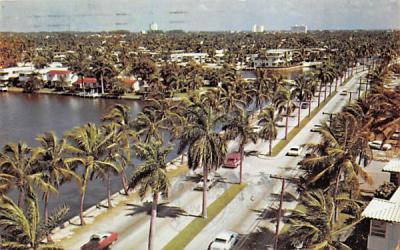 Las Olas Boulevard Fort Lauderdale, Florida Postcard