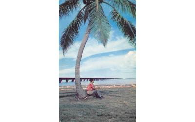 7 Mile Bridge From Pigeon Key Florida Keys Postcards, Florida