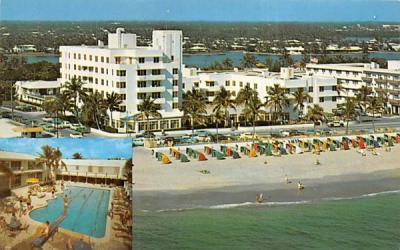 Lauderdale Beach Hotel Fort Lauderdale, Florida Postcard