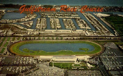 Gulfstream Park - Hollywood, Florida FL Postcard