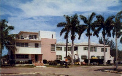 Ang & Lea by the Sea Apartments - Hollywood, Florida FL Postcard