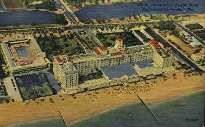 Hollywood Beach Hotel - Florida FL Postcard