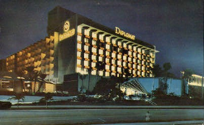 Diplomat Hotel - Hollywood, Florida FL Postcard