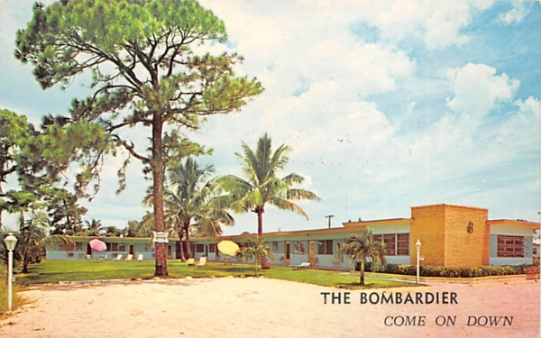 The Bombardier Hollywood, Florida Postcard