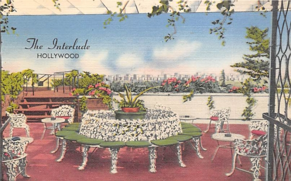 The Interlude Hollywood , Florida Postcard