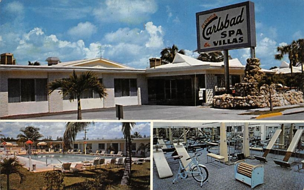The Florida Carlsbad Spa Postcard