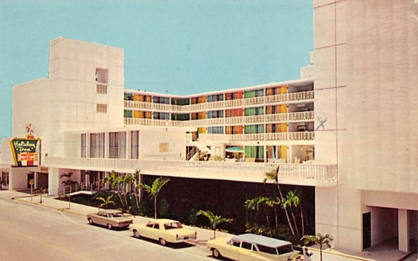 Holiday Inn of Hollywood Florida, USA Postcard