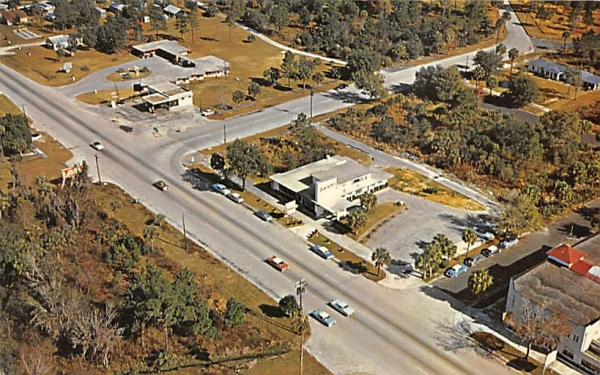 Aerial of Homosassa Spirngs, FL, USA Homosassa Springs, Florida Postcard