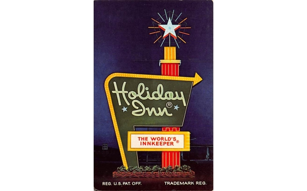 Holiday Inn Hollywood, Florida Postcard