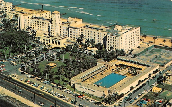 Hollywood Beach Hotel/Golf Club Florida Postcard