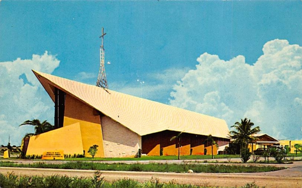 Prince of Peace Lutheran Church Hollywood, Florida Postcard