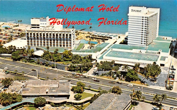 Diplomat Hotel Hollywood , Florida Postcard