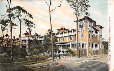 Hotel Ormond on the Halifax River Florida Postcard