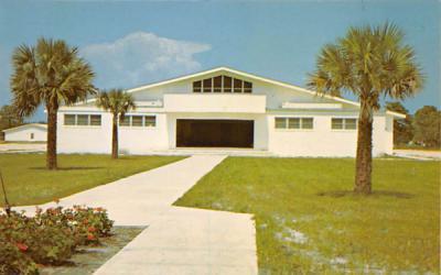 Tabernacle located at Sea Breeze Camp Ground Hobe Sound, Florida Postcard