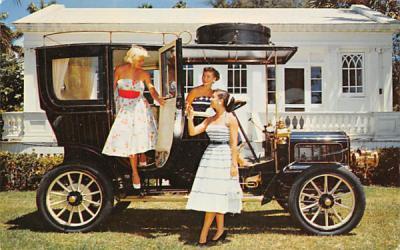 1905 White Steamerf Hypoluxo, Florida Postcard
